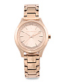 Women's Janelle Bracelet Watch In Rose Gold