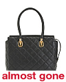 Benson Quilted Leather Work Tote