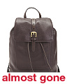 Loralie Leather Backpack