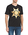 Short Sleeve V-neck Sheriff T-shirt