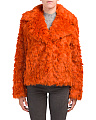 Faux Fur Fashion Jacket