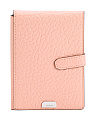 RFID Leather Borrego Passport Holder