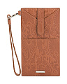 Denia Ingrid Leather Phone Wallet