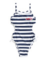 Big Girls Striped Monokini