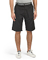 Activate Belted Stacked Hybrid Cargo Shorts