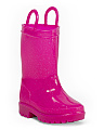Toddler Girls Glitter Jelly Rain Boots