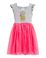 Little Girls Pineapple Tutu Dress