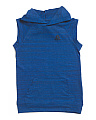 Big Boys Sleeveless Weekender Hoodie