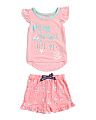 Toddler Girls 2pc Dream Sunshine Dreams Pajama Set