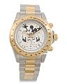 Limited Edition Mickey Mouse Two Tone Bracelet Watch