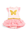 Baby Girls Butterfly Tutu Dress