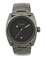 Men's Kingpin Bracelet Watch In Gunmetal