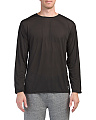 Made In Usa Crew Neck Travel Weight Top