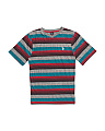Big Boys Short Sleeve Striped Tee