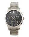 Men's Swiss Made Chronograph Alliance Bracelet Watch