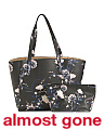 Alexy Floral Leather Shopper
