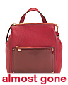 Judi Convertible Leather Backpack