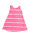 Little Girls Tie Dye Comfy Tank Dress