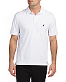 Solid Interlock Polo