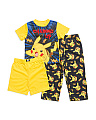 Boys 3pc Pokemon Sleep Set