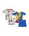 Boys 4pc Pokemon Short Sleep Set