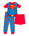 Boys 3pc Superman Sleep Set