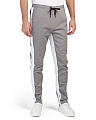 Double Sided Stripe Twill Joggers