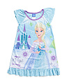 Girls Frozen Elsa Sleep Gown
