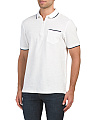 Short Sleeve Quarter Zip Polo