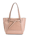 Shine Leather Tote