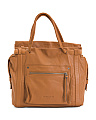 Virginia Slouch Leather Satchel