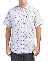 Short Sleeve Park Life Print Shirt