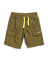 Toddler Boys Poplin Cargo Shorts