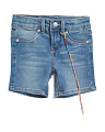 Toddler Girls Midi Denim Shorts
