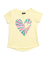 Little Girls Heartbreaker Tee