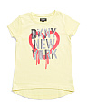 Little Girls Open Heart Tee