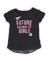 Girls Future Belongs To Girls Top