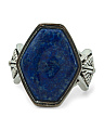 Made In Thailand Sterling Silver And Lapis Ring