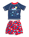Toddler Boys 2pc Fishing Rash Set