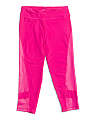 Big Girls Side Panel Capris