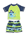 Infant Boys 2pc Octopus Pirate Rash Set