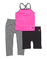 Little Girls 3pc Active Set