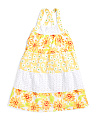 Little Girls Daisy Dress