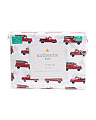 Kids Vintage Firetruck Sheet Set