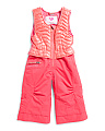 Little Girls Snow Pant Overalls
