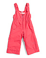 Little Girls Snoverall Bib Snowpants