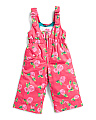 Little Girls Snow Pant Snoveralls