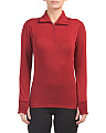 Quarter Zip Holly Baselayer Top
