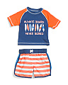 Infant Boys Two-piece Surf Rash Set
