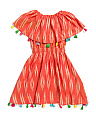 Girls Ikat Fun Fair Dress